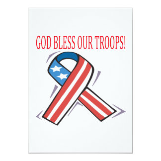 God Bless Our Troops Announcement