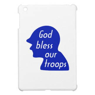 God Bless Our Troops Case For The iPad Mini