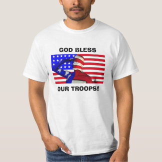 GOD BLESS OUR TROOPS!!... Religious shirts