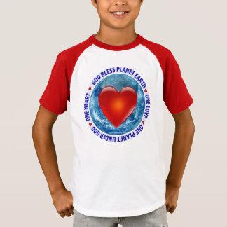 God Bless Planet Earth - Kid's T-Shirt