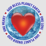 God Bless Planet Earth - Stickers