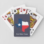 """God Bless Texas Playing Cards<br><div class=""""desc"""">A beautiful set of Texas playing cards. Request a custom deck to your liking by sending me a message.</div>"""