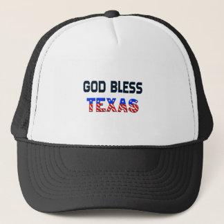 God Bless Texas Trucker Hat