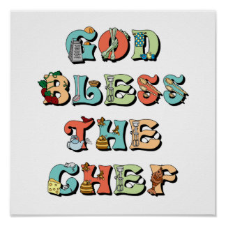 God Bless the Chef Poster