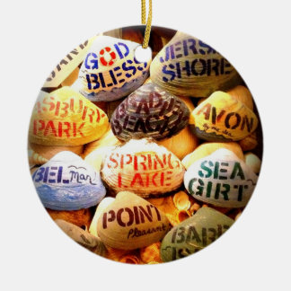 God Bless the Jersey Shore - Christmas Ornament