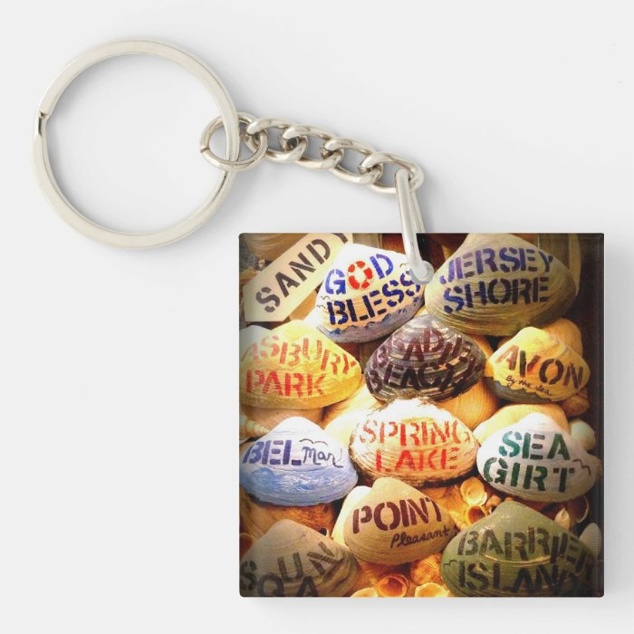 God Bless the Jersey Shore - Key Chain
