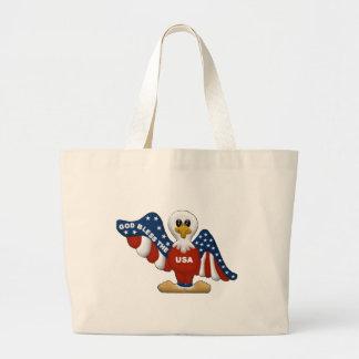 God Bless the USA 2 Canvas Bag