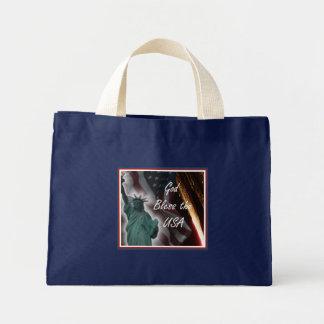 God Bless the USA Canvas Bag