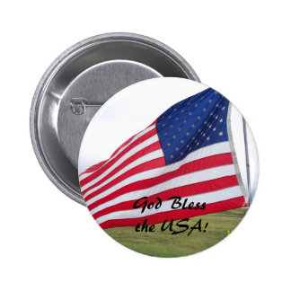 God Bless the USA! Buttons