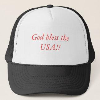 God bless the USA!! cap