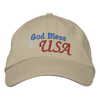 God Bless the USA Cap Template by SRF