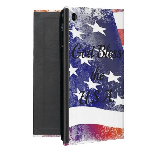 God Bless the USA Case For iPad Mini