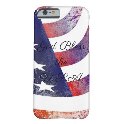 God Bless The USA iPhone Case