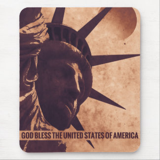 God Bless The USA Mouse Pads