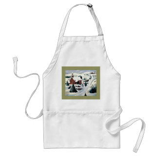 GOD BLESS US ALL WITH LOVE ADULT APRON