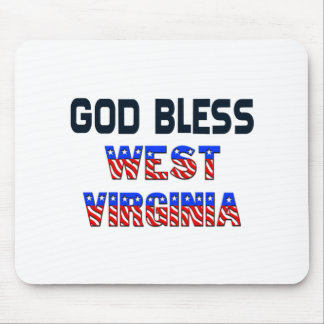 God Bless West Virginia Mouse Pad