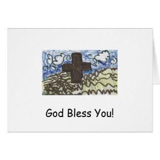 God Bless You! Card