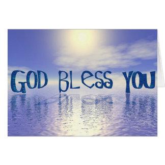 ~God Bless You~ Card