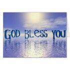 God Bless You. Card