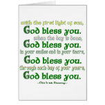 God Bless You Greeting Cards