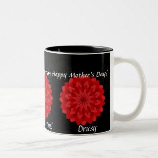 God Bless You- Mom's Mug-Customize Two-Tone Coffee Mug