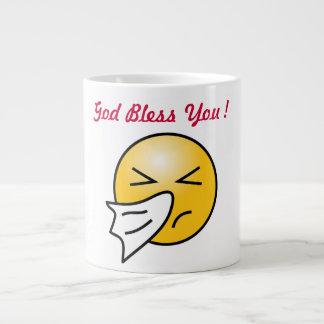GOD BLESS YOU EXTRA LARGE MUGS