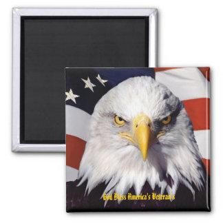 God BlessAmerica Veterans Magnet