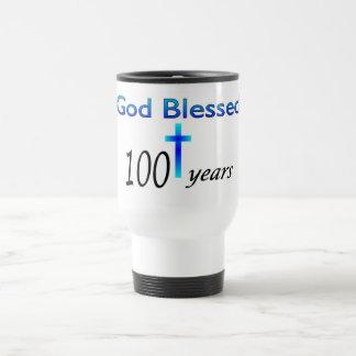 God Blessed 100 years birthday gift Coffee Mugs