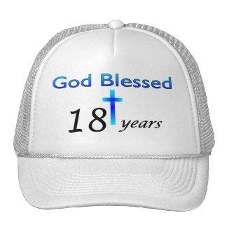 God Blessed 18 years birthday gift Trucker Hat