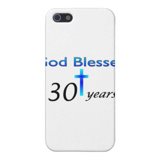 God Blessed 30 years christian birthday gift iPhone SE/5/5s Cover