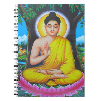 God Buddha Spiral Note Book