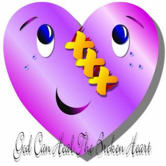 God Can Heal Photo Sculpture