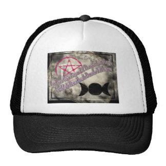 god chant mesh hat