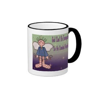 God Created Angels Mug