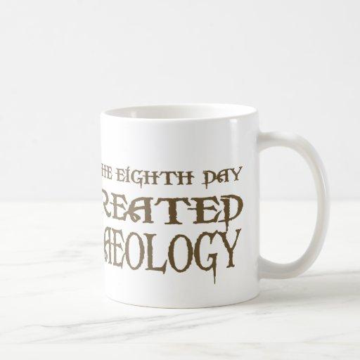 God Created Archaeology Coffee Mug