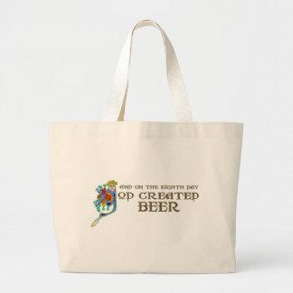 God Created Beer Bag