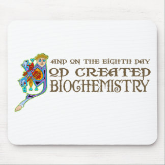 God Created Biochemistry Mouse Mat