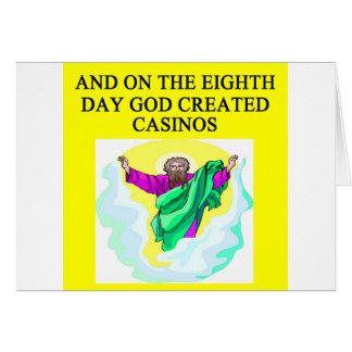 god created casinos card