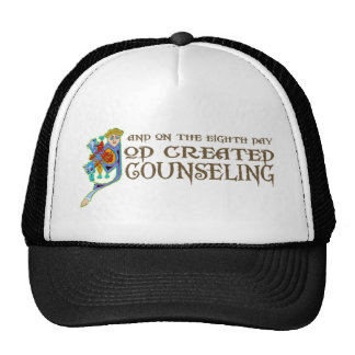 God Created Counseling Mesh Hat
