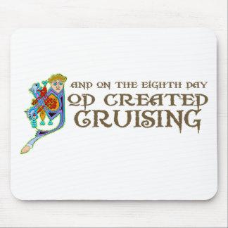 God Created Cruising Mouse Mat