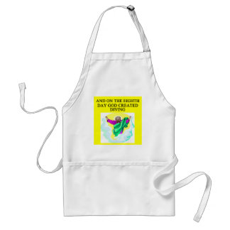 god created diving aprons