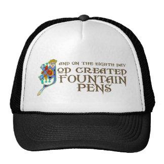 God Created Fountain Pens Trucker Hat