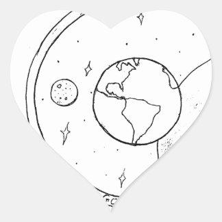 God Created! Heart Sticker