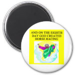 god created horse racing magnets