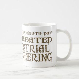 God Created Industrial Engineering Coffee Mug