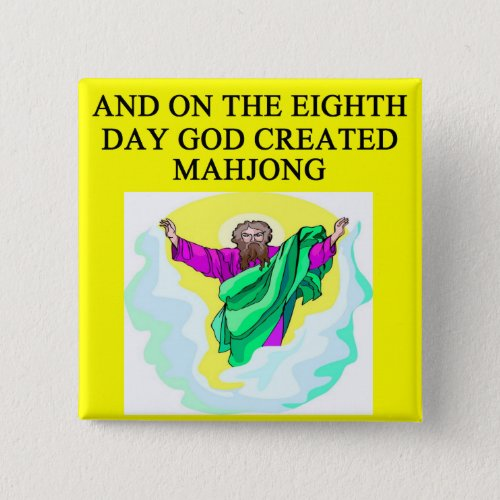god created mahjong button