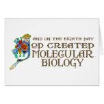 God Created Molecular Biology Cards