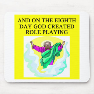 god created role playing mouse pad