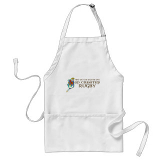 God Created Rugby Aprons
