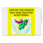 god created soap opera card
